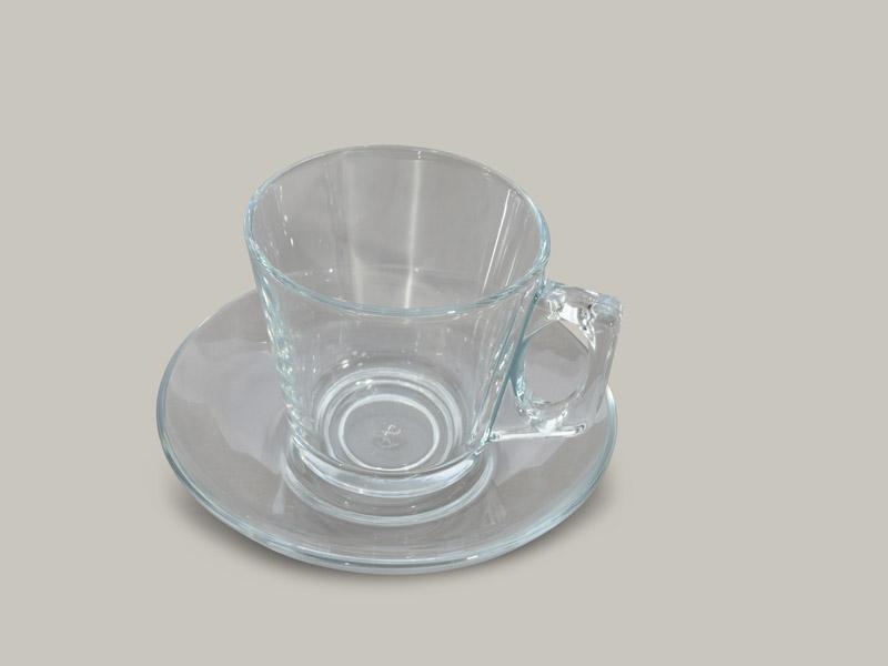 כוס לשתיה חמה עם תחתית